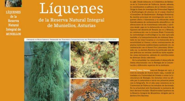 Lichens of the Muniellos MAB Reserve Book, Asturias, Spain Libro: Líquenes de la Reserva Integral de Muniellos, Asturias